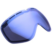 Electric EG2 Goggle Replacement Lens 2014, Blue-Silver Chrome, medium