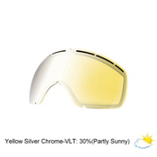 Electric EG2 Goggle Replacement Lens, Yellow-Silver Chrome, medium