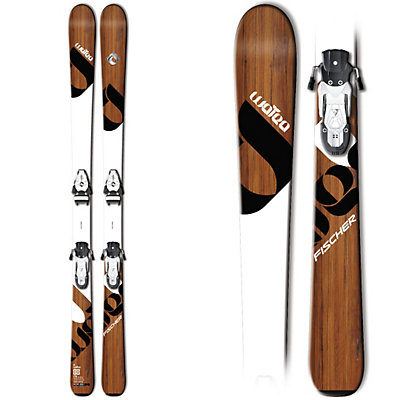 Fischer Watea 88 Skis, , viewer