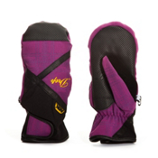 Drop Precious II Womens Mittens, Plum Black, medium
