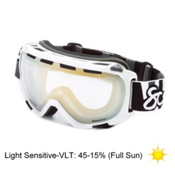 Scott Fix Goggles, Light Sens Chrome-Gloss White, medium