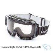 Scott Fix Goggles, Nl 45-Gloss White, medium