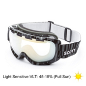 Scott Fix Goggles, Light Sens Chrome-Code Black, medium