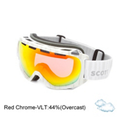 Scott Fix Goggles, Red Chrome-Code White, medium