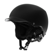 Bern Baker Audio Hard Hat, Matte Black With-Black Audio Knit, medium