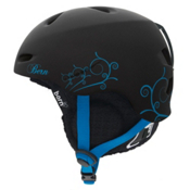 Bern Berkeley Lindsey Jacobellis Womens Audio Helmet, Black Lindsey Jacobellis-Black Audio Knit, medium