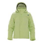 Burton Charm Girls Snowboard Jacket, Honeydew, medium