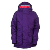 Burton Pineview System Womens Insulated Snowboard Jacket, Rum Raisin, medium