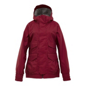 Burton Pineview System Womens Insulated Snowboard Jacket, Garnet, medium