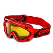 Carrera Kimerik S Kids Goggles, Red-Super Gold, medium