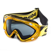 Carrera Kimerik S Kids Goggles, Liquid Yellow-Grey, medium