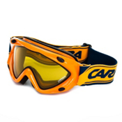 Carrera Kimerik S Kids Goggles, Mandarine-Super Gold, medium
