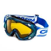 Carrera Kimerik S Kids Goggles, Liquid Electric Blue-Super Gold, medium