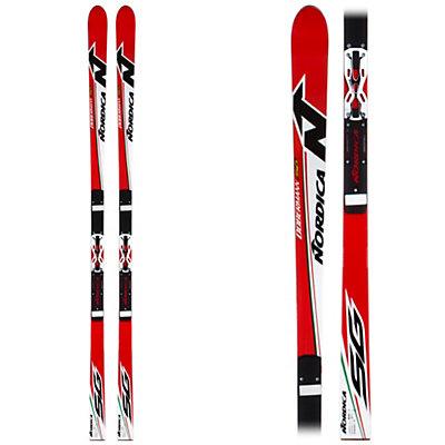 Nordica Dobermann SG Plate Race Skis, , large