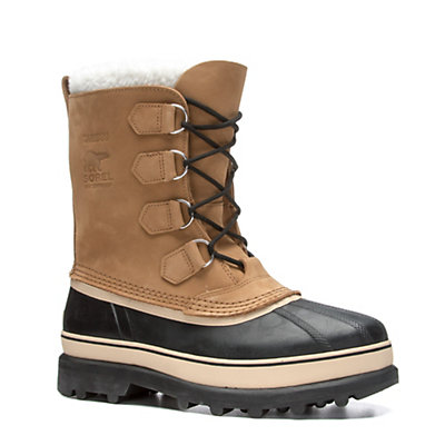 Sorel Caribou Mens Boots, Buff, viewer