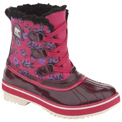 Sorel Youth Tivoli Girls Boots, Port Royale-Pink Carnation, medium