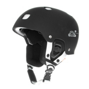 POC Receptor Bug Adjustable Helmet, Black-White, medium