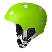 POC Receptor Bug Adjustable Helmet, Green-White, medium