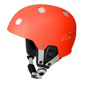 POC Receptor Bug Adjustable Helmet, Flourescent Orange-White, medium
