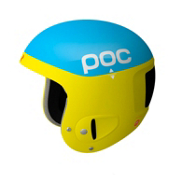 POC Skull Comp 2.0 Helmet, Blue-Yellow, medium