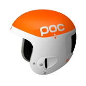 POC Skull Comp 2.0 Helmet, Orange-White, medium