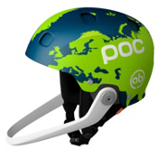 POC Sinuse SL Axel Back Helmet 2013, Green-Blue, medium