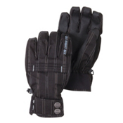 686 Turbo Insulated Snowboard Gloves, Black Plaid, medium