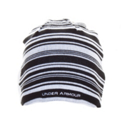 Under Armour Striped Hat, Black-White, medium