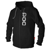 POC Corp Zip Hoodie, Black, medium