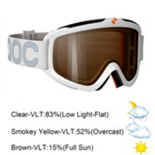 POC Iris Comp Medium Goggles 2013, White-Blue, medium