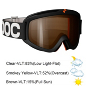 POC Iris Comp Medium Goggles 2013, Black-Blue, medium