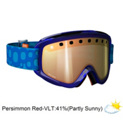 POC Iris Bug Medium Goggles 2013, Blue-Persimon Red Mirror, medium
