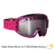 POC Iris Bug Medium Goggles 2013, Pink-Clear Silver Mirror, medium