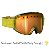 POC Iris Bug Medium Goggles 2013, Yellow-Persimon Red Mirror, medium