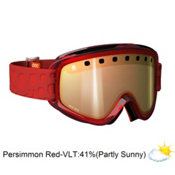 POC Iris Bug Medium Goggles 2013, Red-Persimon Red Mirror, medium
