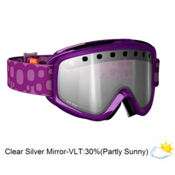 POC Iris Bug Medium Goggles 2013, Purple-Persimon Red Mirror, medium