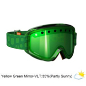 POC Iris Bug Medium Goggles 2013, Green-Yellow Green Mirror, medium