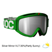 POC Iris X Medium Goggles 2013, Green-Clear Silver Mirror, medium