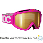 POC Iris X Medium Goggles 2013, Pink-Clear Red Mirror, medium