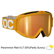 POC Iris X Medium Goggles 2013, Yellow-Persimon Red Mirror, medium