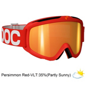 POC Iris X Medium Goggles 2013, Red-Persimon Red Mirror, medium