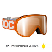 POC Retina NXT Polarized Photochromatic Goggles, Orange-Nxt Photocromatic, medium