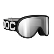 POC Retina Goggles 2013, Black-Clear Silver Mirror, medium