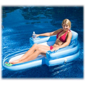 Rave Tahitian Chaise Inflatable Raft 2013, , medium