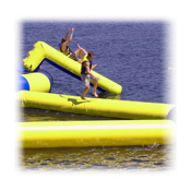 Rave Slidewalk Water Trampoline Attachment, , medium