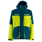 Armada Terra Mens Insulated Ski Jacket, Deep Teal, medium