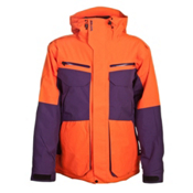 Armada Terra Mens Insulated Ski Jacket, Orange, medium