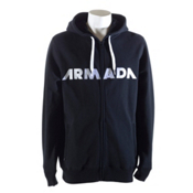 Armada Represent Fleece Hoodie, Black, medium