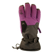 Gordini Stomp II Womens Gloves, Black-Deep Purple, medium