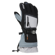 Gordini Fuse Gloves, Black-Light Grey, medium